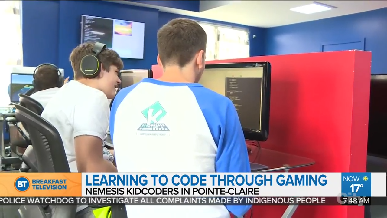 KIDCoders: Teaching kids to code with video games