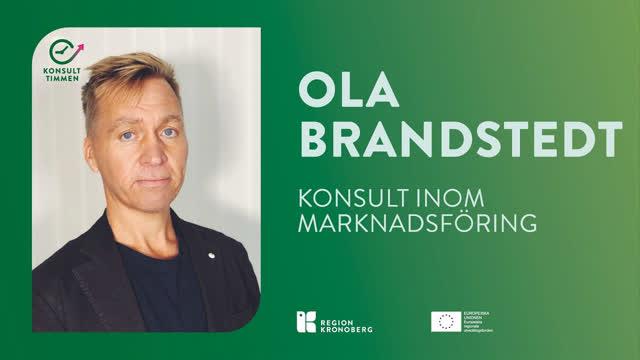 Konsulttimmen Ola Brandstedt
