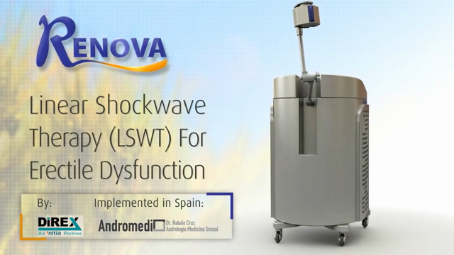 Linear Shockwave Therapy (LSWT) for Erectile Dysfunction. Doctor Natalio Cruz. Andromedi. Sevilla