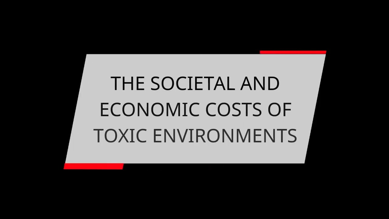 THE SOCIETAL AND ECONOMIC COSTS OF TOXIC ENVIRONMENTS