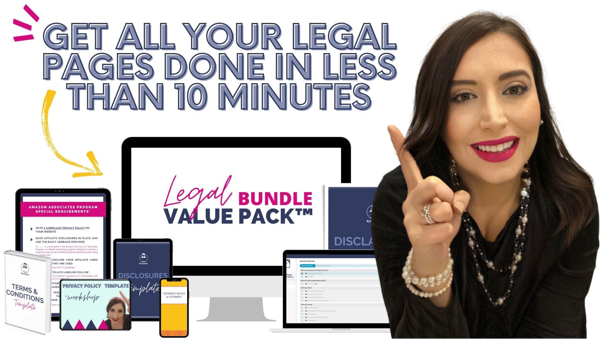 Legal Bundle Value Pack Video