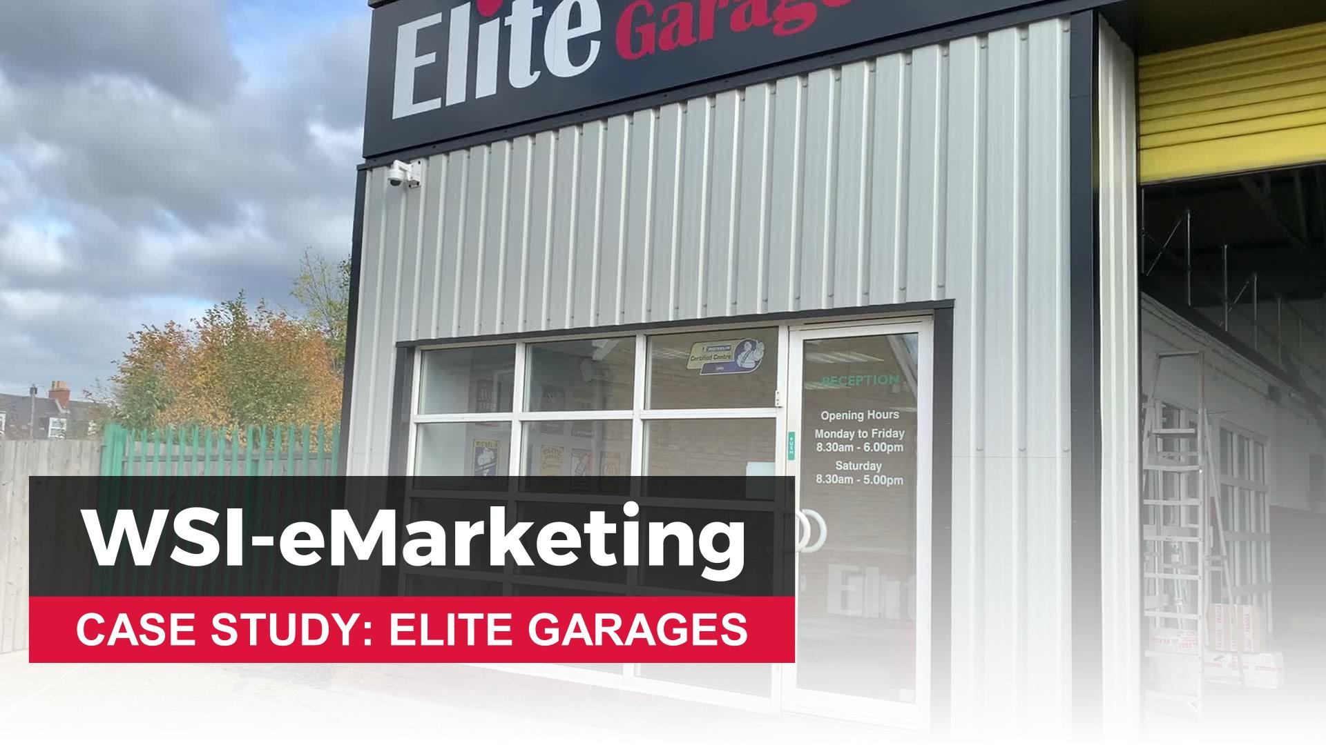 WSI Customer Testimonial - Elite Garages